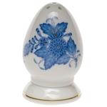Herend Chinese Bouquet Blue Salt Shaker