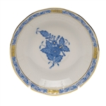 Herend Chinese Bouquet Blue After Dinner Saucer