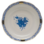 Herend Chinese Bouquet Blue Tea Saucer
