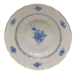 Herend Chinese Bouquet Blue Rim Soup Bowl