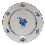Herend Chinese Bouquet Blue Bread & Butter Plate