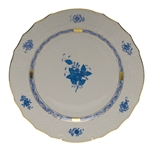 Herend Chinese Bouquet Blue Service Plate