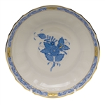 Herend Chinese Bouquet Blue Canton Saucer