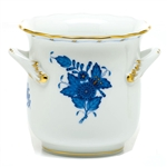 Herend Chinese Bouquet Blue Mini Handle Cachepot