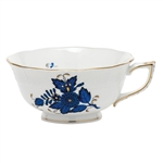 Herend Chinese Bouquet Black Sapphire Teacup