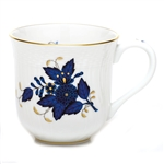 Herend China Chinese Bouquet Black Sapphire Mug