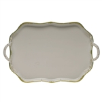 Herend Princess Victoria Green Rectangular Tray