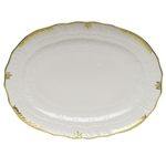 Herend Princess Victoria Green Platter