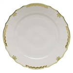 Herend Princess Victoria Green Dinner Plate