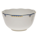 Herend Princess Victoria Blue Round Serving Bowl
