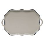 Herend Princess Victoria Blue Rectangular Tray