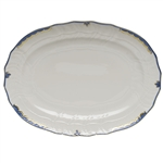 Herend Princess Victoria Blue Platter