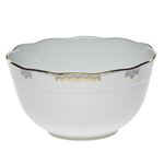 Herend Princess Victoria Light Blue Round Bowl