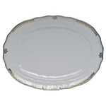 Herend Princess Victoria Light Blue Platter