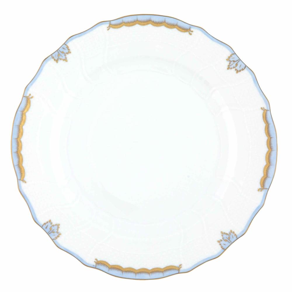 Light Shop Sale Victoria: Herend Princess Victoria Light Blue Dinner Plate At