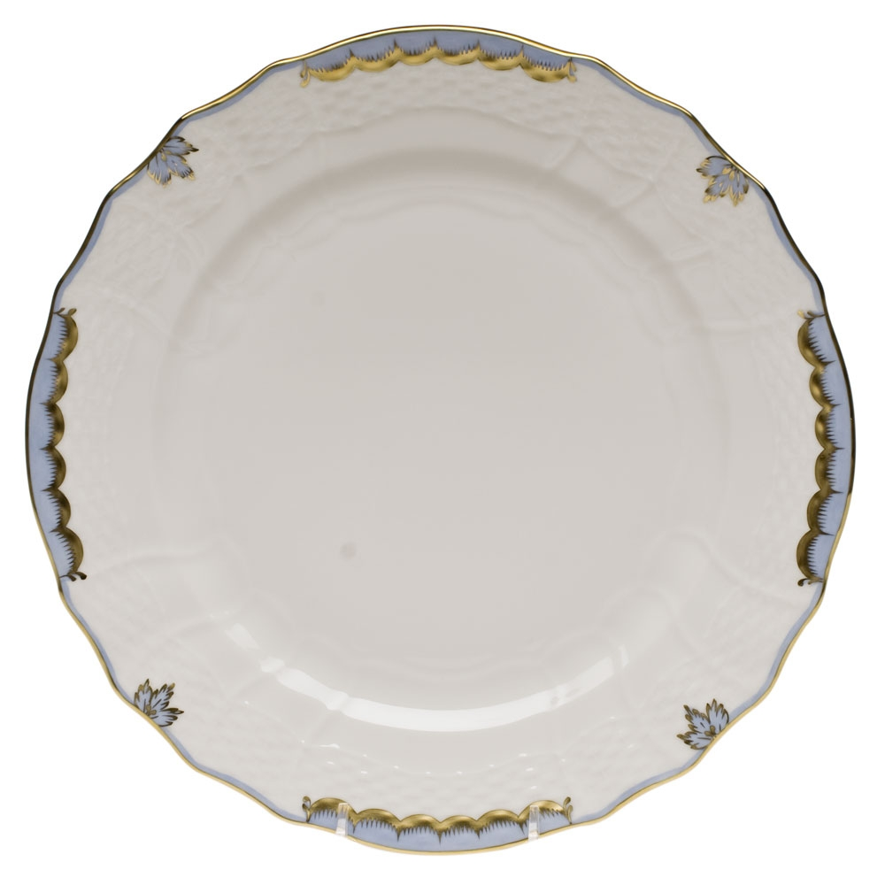Light Shop Sale Victoria: Herend Princess Victoria Light Blue Service Plate At