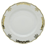 Herend Princess Victoria Gray Dinner Plate