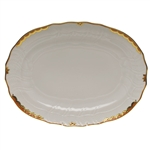 Herend Princess Victoria Rust Platter