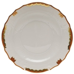 Herend Princess Victoria Rust Salad Plate