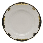 Herend Princess Victoria Black Bread & Butter Plate