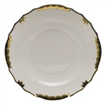 Herend Princess Victoria Black Salad Plate