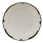 Herend Princess Victoria Black Dinner Plate