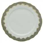 Herend Fish Scale Gray Border Service Plate