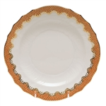 Herend Fish Scale Rust Salad Plate