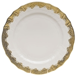 Herend Fish Scale Gold Service Plate
