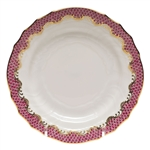 Herend Fish Scale Raspberry Bread and Butter Plate