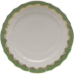 Herend Fish Scale Blue - Green Service Plate