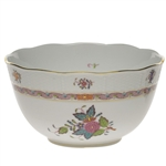 Herend Chinese Bouquet Multicolor Round Serving Bowl