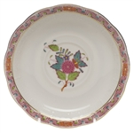 Herend Chinese Bouquet Multicolor Tea Saucer