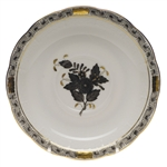 Herend Chinese Bouquet Black Tea Saucer