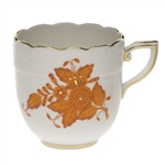 Herend Chinese Bouquet Rust After Dinner Cup