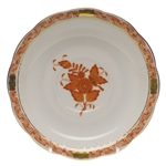 Herend Chinese Bouquet Rust Tea Saucer