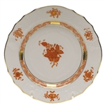 Herend Chinese Bouquet Rust Bread & Butter Plate