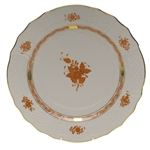 Herend Chinese Bouquet Rust Service Plate