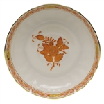 Herend Chinese Bouquet Rust Canton Saucer