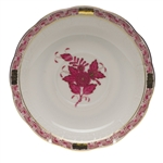 Herend Chinese Bouquet Raspberry Tea Saucer