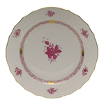 Herend Chinese Bouquet Raspberry Service Plate