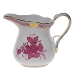 Herend Chinese Bouquet Raspberry Creamer