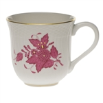 Herend Chinese Bouquet Raspberry Mug