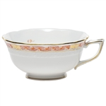 Herend Chinese Bouquet Garland Rust Tea Cup