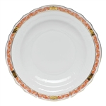 Herend Chinese Bouquet Garland Rust Salad Plate
