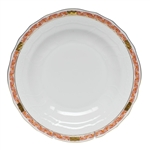 Herend Chinese Bouquet Garland Rust Dessert Plate