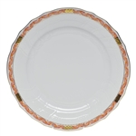Herend Chinese Bouquet Garland Rust Dinner Plate