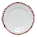 Herend Chinese Bouquet Garland Raspberry Dessert Plate
