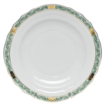 Herend Chinese Bouquet Garland Green Salad Plate