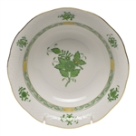 Herend Chinese Bouquet Green Oatmeal Bowl